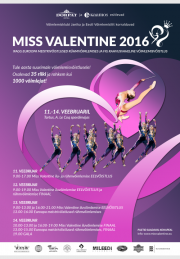 Miss Valentine Cup Tartu 2016 - Photos+Videos