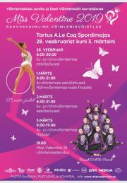 Miss Valentine Cup Tartu 2019 - Photos+Videos